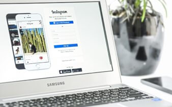 computador no instagram